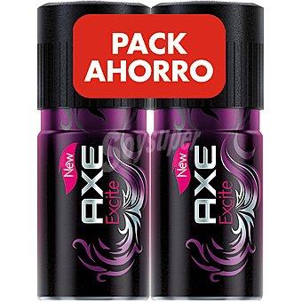 Axe Desodorante Excite ( pack ahorro precio especial ) Pack 2 spray 150 ml