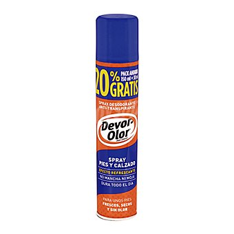 Devor-olor Desodorante para pies y en spray 150 ml