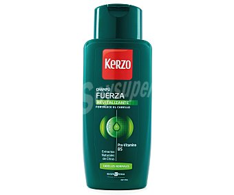 Kerzo Champú para hombre revitalizante (fortalece el cabello) 400 mililitros