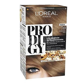 Prodigy L'Oréal Paris Tinte coloración extraordinaria nº 7 Almendra Rubio 1 ud