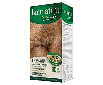 Farmatint Coloración en crema permanente 8D rubio claro dorado 1 unidad