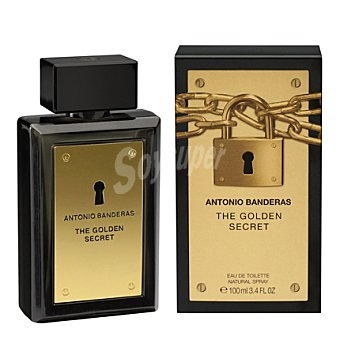 Antonio Banderas Eau de toilette golden secret vaporizador 100 ml