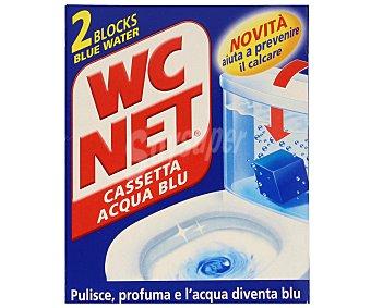 WC Net Bloques WC Limpiador Cisterna 2 Unidades x 45 Gramos