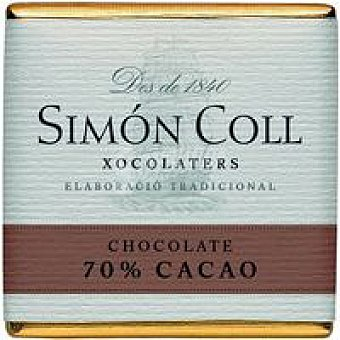 SIMON COLL Chocolate 70% 5g caja 5 k