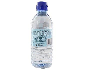 Rik&Rok Auchan Botella de agua mineral con tapón sport 33 centilitros
