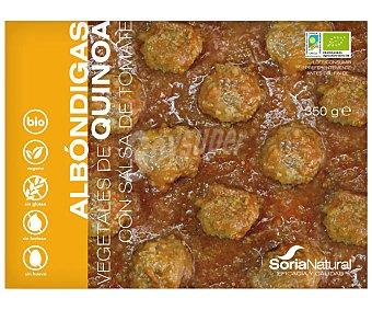 Soria Natural Albóndigas vegetales de quinoa ecológicas 350 g