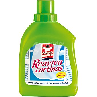 Omino Bianco Blancas de color Reaviva Cortinas Botella 500 ml
