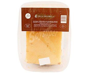 Villa Villera Tarta de queso elaborada sin conservantes y sin gluten