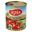 Tomate natural entero pelado apis Lata 780 g Apis