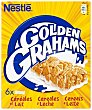 Barritas de cereales  y leche Pack de 6x25 gr Golden Grahams Nestlé