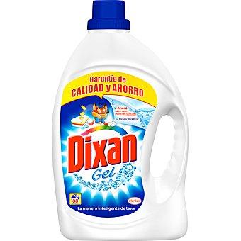 Dixan Detergente máquina líquido gel Botella 38 dosis