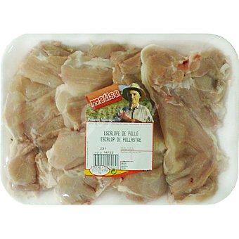 Matisa Contra de pollo mallorquín para ajillo peso aproximado Bandeja 400 g