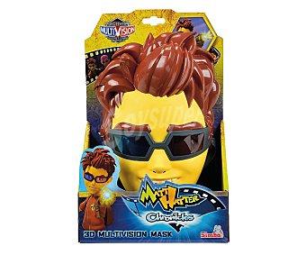 SIMBA Máscara con gafas multivisión 3D del personaje Matt Hatter, incluye código para desbloquear contenidos 1 unidad