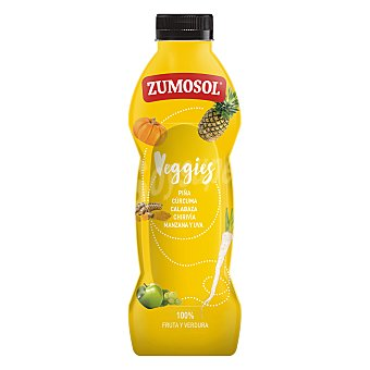Zumosol Veggies Zumo de frutas y verduras botella 75 cl 2 l