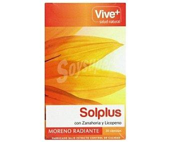 Viveplus Solplus con zanahoria y licopeno, moreno radiante 30 C