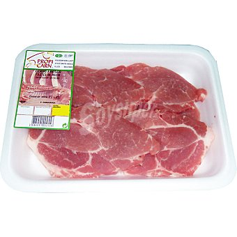 PROPICARN Filetes de aguja fresca de cerdo peso aproximado Bandeja 500 g