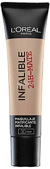 L'Oréal Paris Base Infalible Mate 24H 030 1 unidad