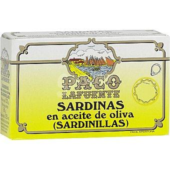 PACO Sardinillas en aceite de oliva 16-18 piezas Lata 85 g neto escurrido