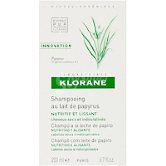 Klorane Champú de papiro Bote 200 ml