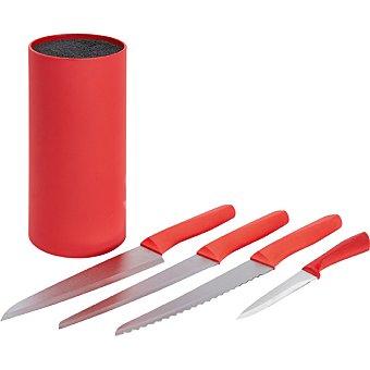 Unit Taco con 5 cuchillos de cocina