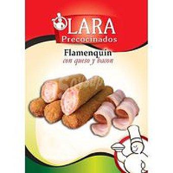 LARA Flamenquín de queso y bacon 4 unidades (470 g)