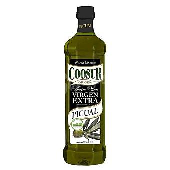 Coosur Aceite oliva virgen extra picual pet 1 l