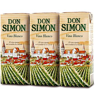 Don Simón Vino Blanco Pack 3x187 ml