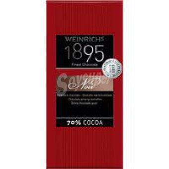 1895 Chocolate negro extrafino 70% 100 g