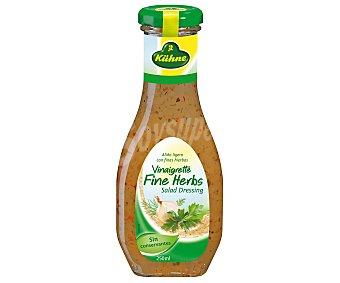 Khune Salsa vinagreta con finas hierbas 250 ml