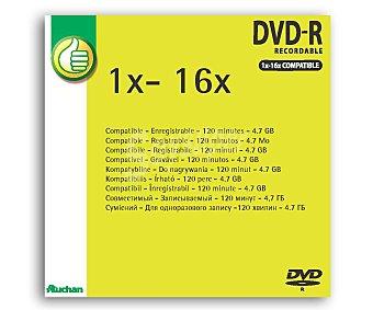 Productos Económicos Alcampo Dvd-r 4,7GB sleeve 16X 1Und