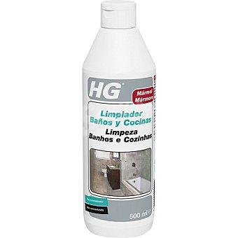 HG Limpiador baños y cocinas de mármol concentrado Botella 500 ml