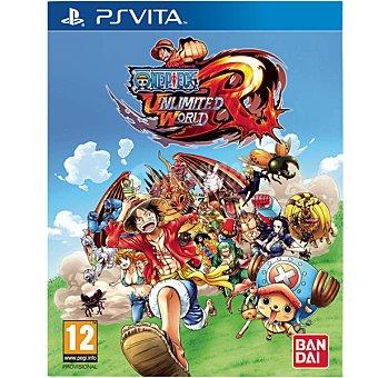 Ps vita Videojuego One Piece Unlimited World Red  1 unidad