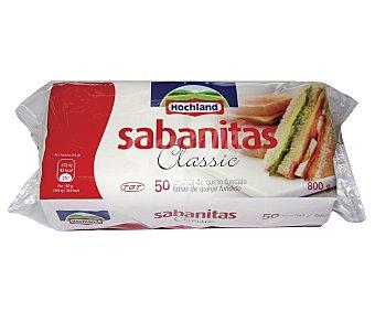 Tgt Queso en Lonchas Sabanitas 50 Unidades (800 Gramos)