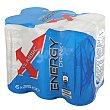 Bebida energética Energy Pack de 6 latas de 25 cl Carrefour