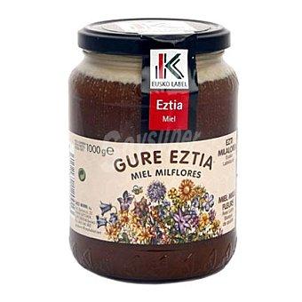 Eusko Label Miel milflores Label del País Vasco