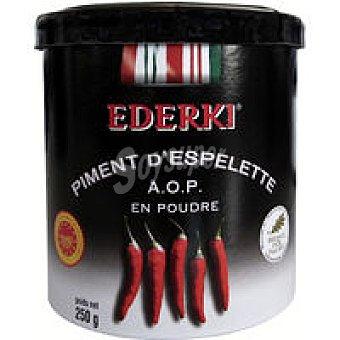 Pimiento Espelette en polvo vacio en caja de carton ederki