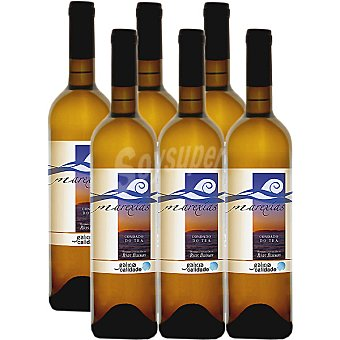 MAREXIAS vino blanco albariño D.O. Rias Baixas caja  6 botellas 75 cl