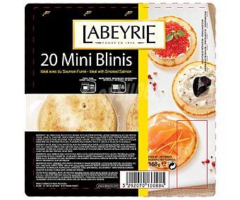Labeyrie Mini Blini 20 Unidades 168 Gramos
