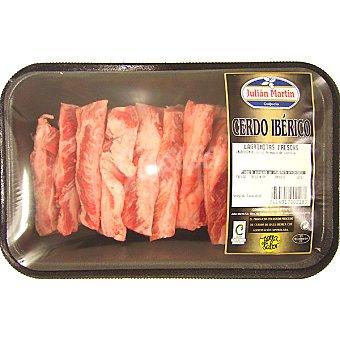 Julian martin Lágrimas adobadas de cerdo ibérico peso aproximado Bandeja 350 g