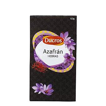 DUCROS Azafrán en hebras caja 0,30 g