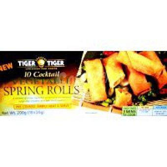 TIGER TIGER Vegetal Spring Rolls Bandeja 200 g