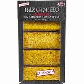 Garpe Bizcocho integral sin azúcar de zanahoria caja 350 g