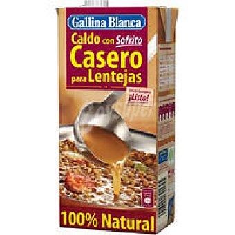 Gallina Blanca Caldo sofrito para lentejas Brik 1 litro
