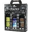 Cerveza rubia IPA, ALE y negra Stout pack especial 3 variedades estuche 3 botellas 50 cl (Ohara IPA + Ohara Winter Star Pale ALe + Ohara Irish Stouts) estuche 3 botellas 50 cl O'hara's