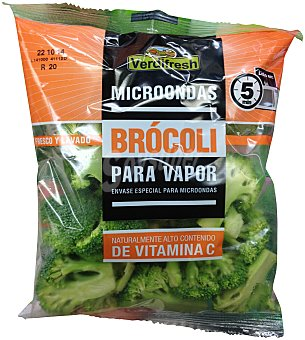 Verdifresh Brócoli vapor microondas Bolsa 230 g