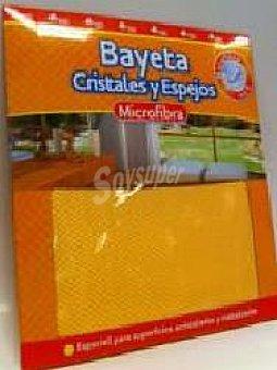 Bosque Verde Bayeta microfibra naranja cristales y espejos 1 unidades