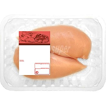 PUJANTE Pollo campero pechuga entera 2 unidades peso aproximado bandeja 400 g 2 unidades (400 g peso aprox.)