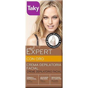 Taky Expert con oro crema depilatorial facial tubo 20 ml Tubo 20 ml