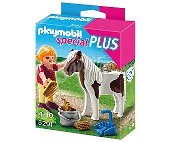PLAYMOBIL Niña con su Pony, Special Plus modelo 5291 de 1 unidad.