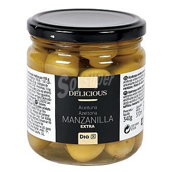 DIA DELICIOUS Aceitunas manzanilla extra tarro 190 gr Tarro 190 gr